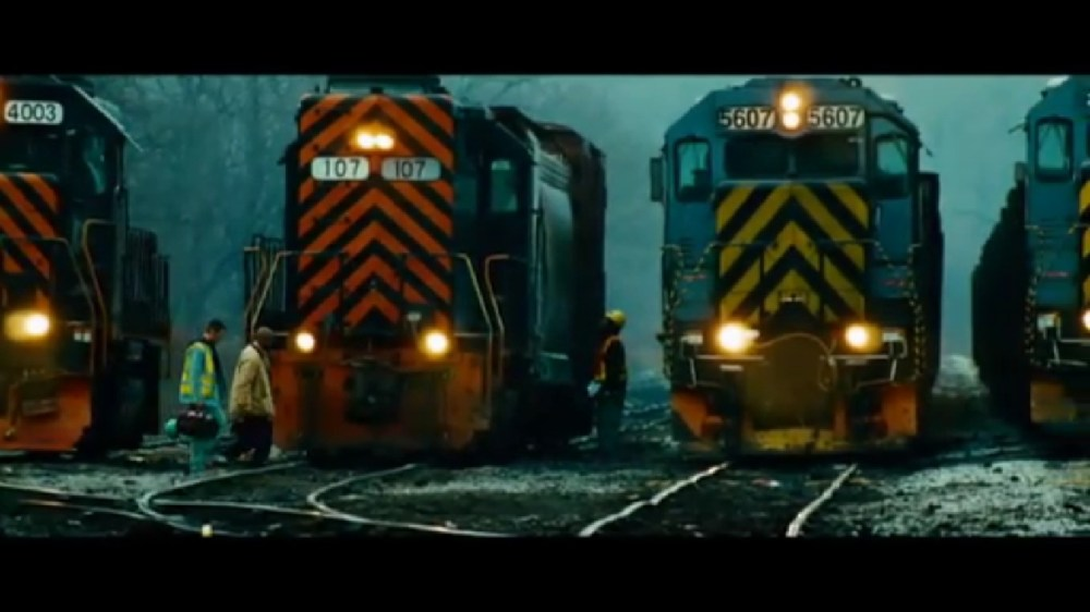 UNSTOPPABLE! The Trains of the Hit Movie and the even that inspired the movie! (4/6)