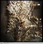 La soirée de lancement de L'exposition Game of Thrones Paris, présentée par OCS et HBO. Le trône de fer.