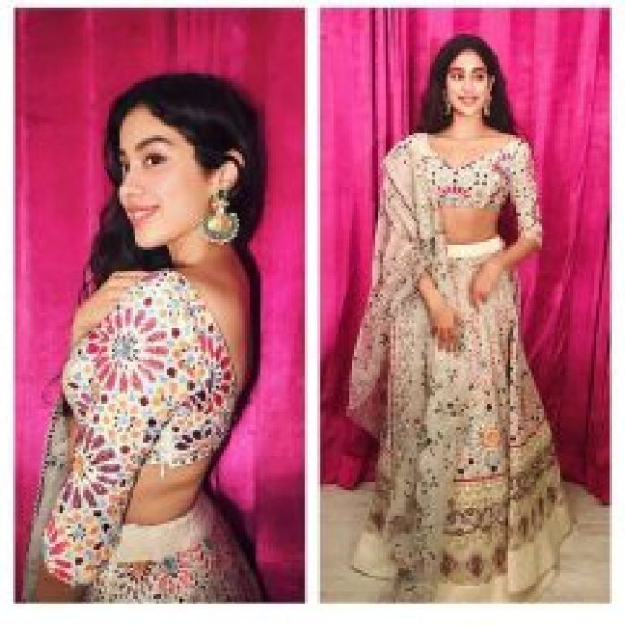 Traditional Jhanvi Kapoor