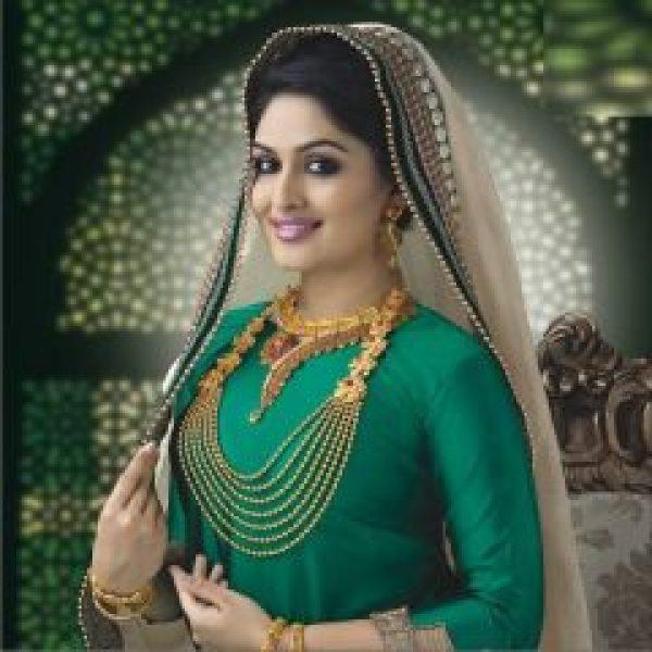Prayaga Martin in Green