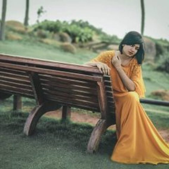 Anarkaloi Marikar In Baeutiful Yellow