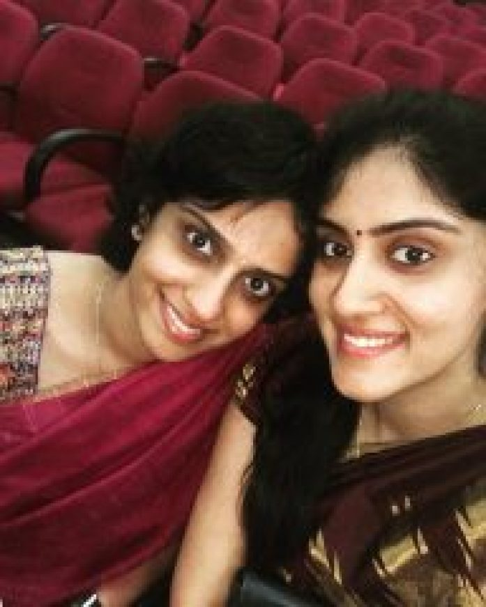 Dhanya Balakrishna with friend
