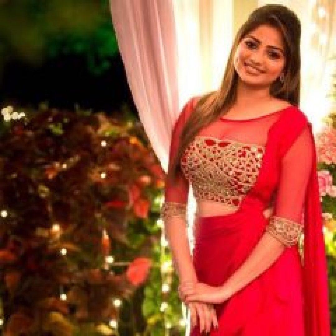 Rachita Ram in Red