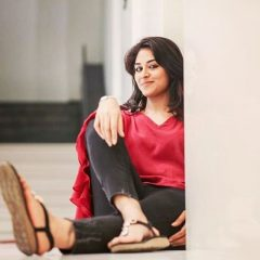 Indhuja Ravichandran in Red