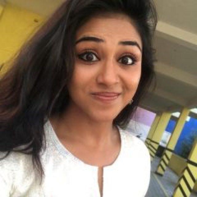 Expression queen Indhuja Ravichandran