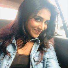 Selfie of Indhuja Ravichandran