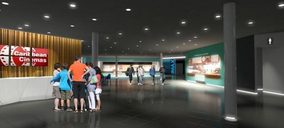 Rendering Lobby Montehiedra Cinemas 2