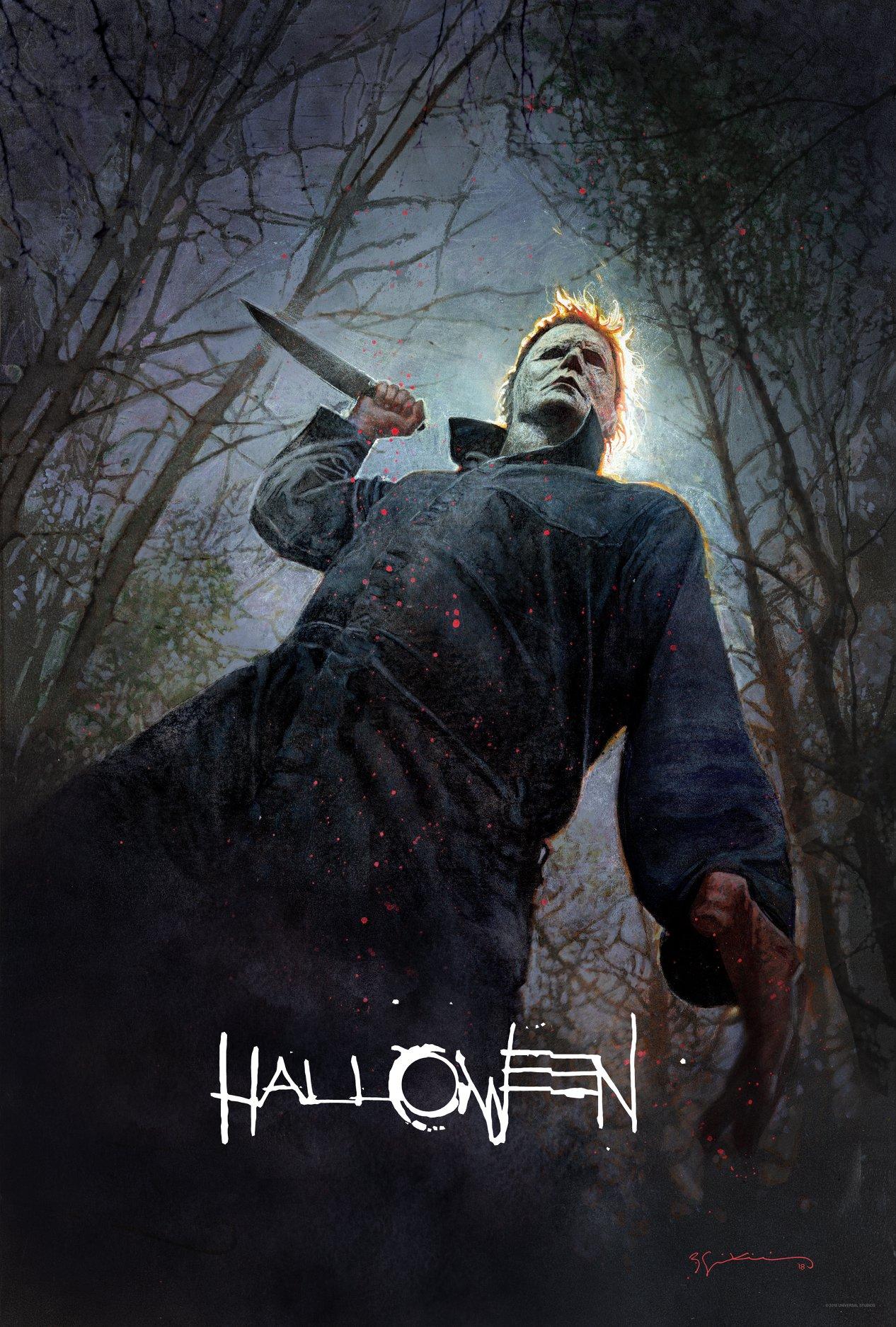 Resultado de imagen de halloween 2018 poster