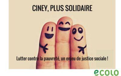 Ciney, plus solidaire !