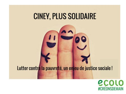 Ciney, plus solidaire !