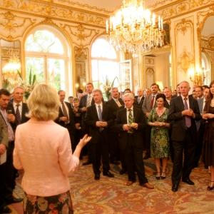 wealthy reception