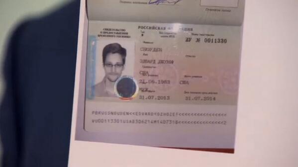 Papeles de Edward Snowden