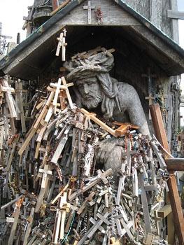 Lituania: La colina de las cruces