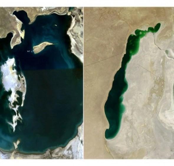 Muerte del mar Aral en Asia