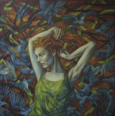 9. Elisabetta Trevisan, una técnica de dibujo a lápiz bien ejecutada