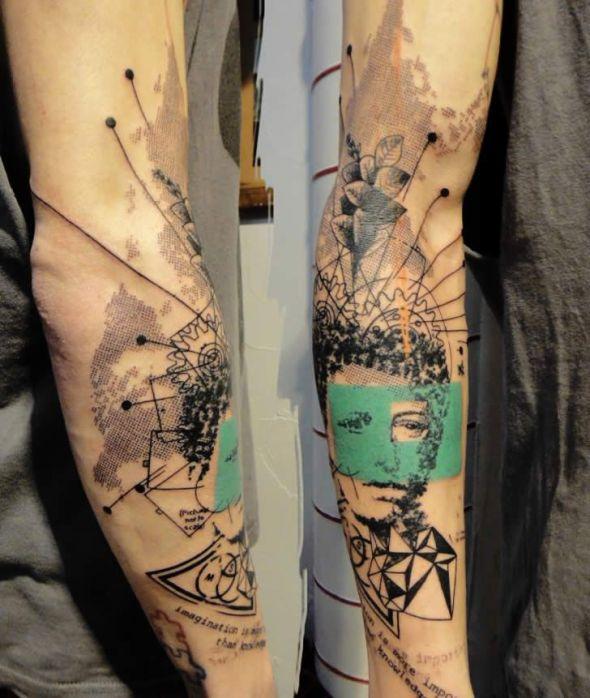 Tatuajes ingeniosos de Xoil
