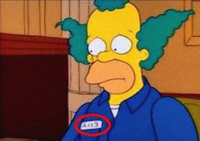 Se repite en Los Simpsons