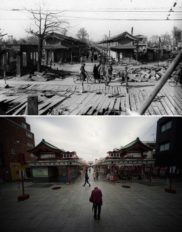 Antes y después: Operación Meetinghouse