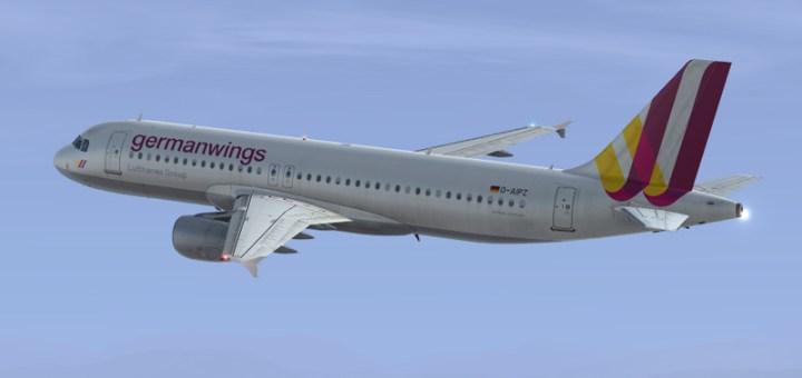 Avión Airbus A320 Germanwings