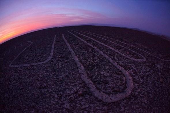Las líneas de Nazca en Perú
