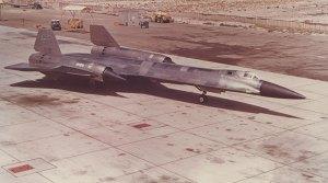 OXCART U-2 en el Área 51