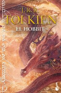 Portada de El Hobbit de J.R.R. Tolkien