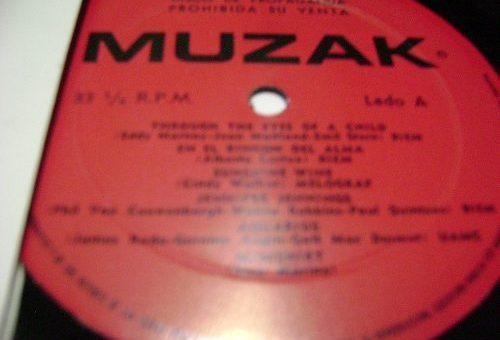 Un disco de Muzak