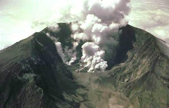Volcanes activos: Tambora en Indonesia