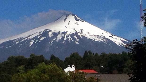 Volcanes activos: Villarrica de Chile
