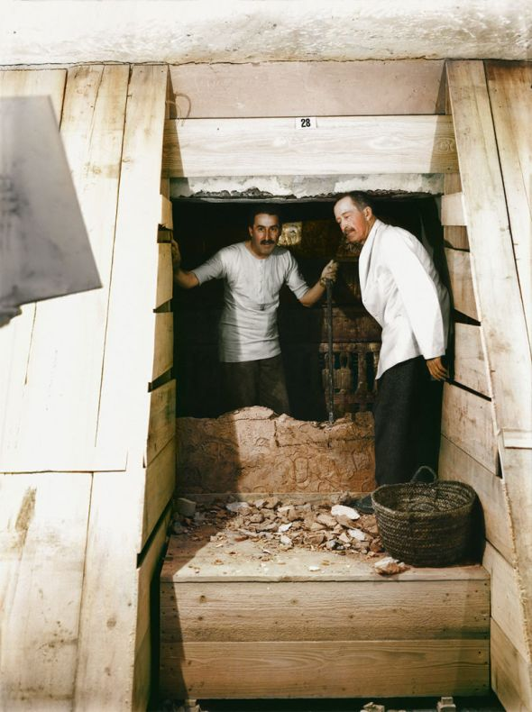 Descubrimiento de la tumba de Tutankamón