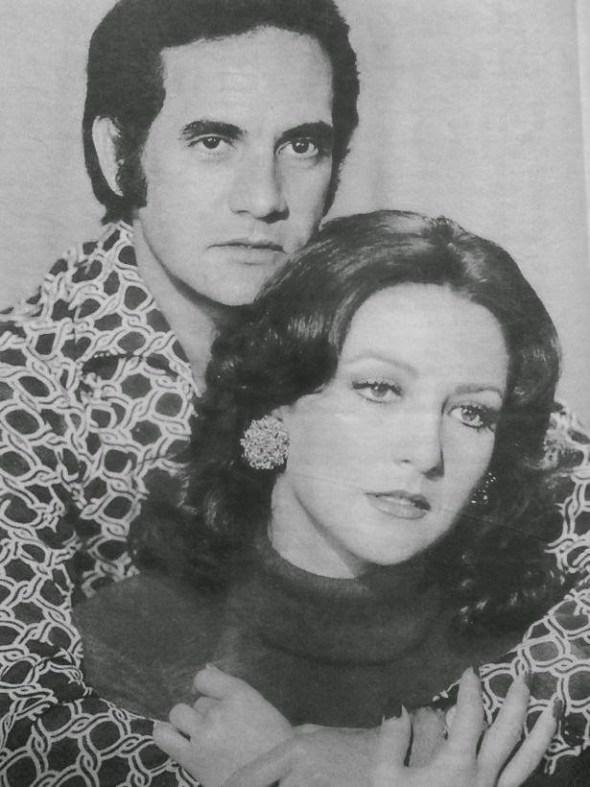 """Ricardo Blume y Angélica María en """"Muchacha italiana viene a casarse""""."""