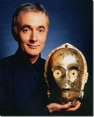 Anthony Daniels actor de C-3PO