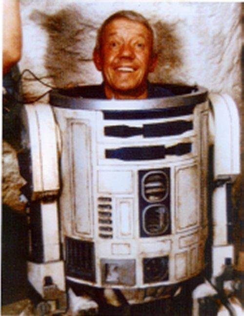 Kenny Baker en R2-D2