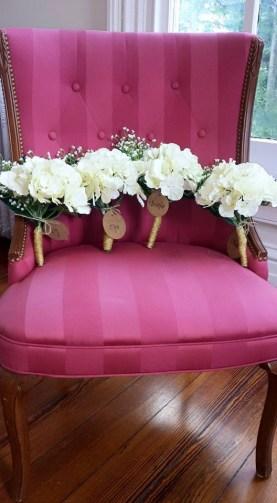 bridesmaids' flowers, photo courtesy of liz parrish