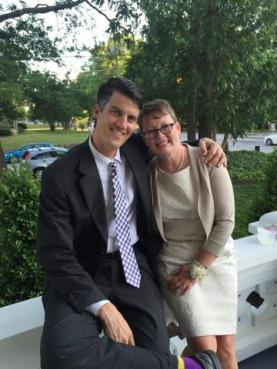 my coworker Matt @ ecu who has been such a good friend to me/my family