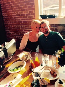 our son jordan and his wife becky