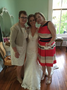 mom of bride and mom's best friend with hanna (photo courtesy brooke bennet)