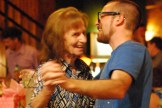 Alex dancing with Granny.
