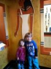 Posing like hambones (Public Museum)