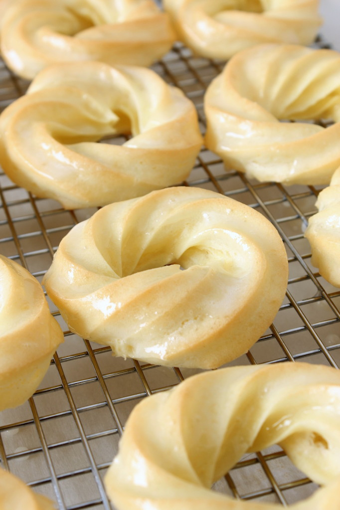 Baked Honey Crullers