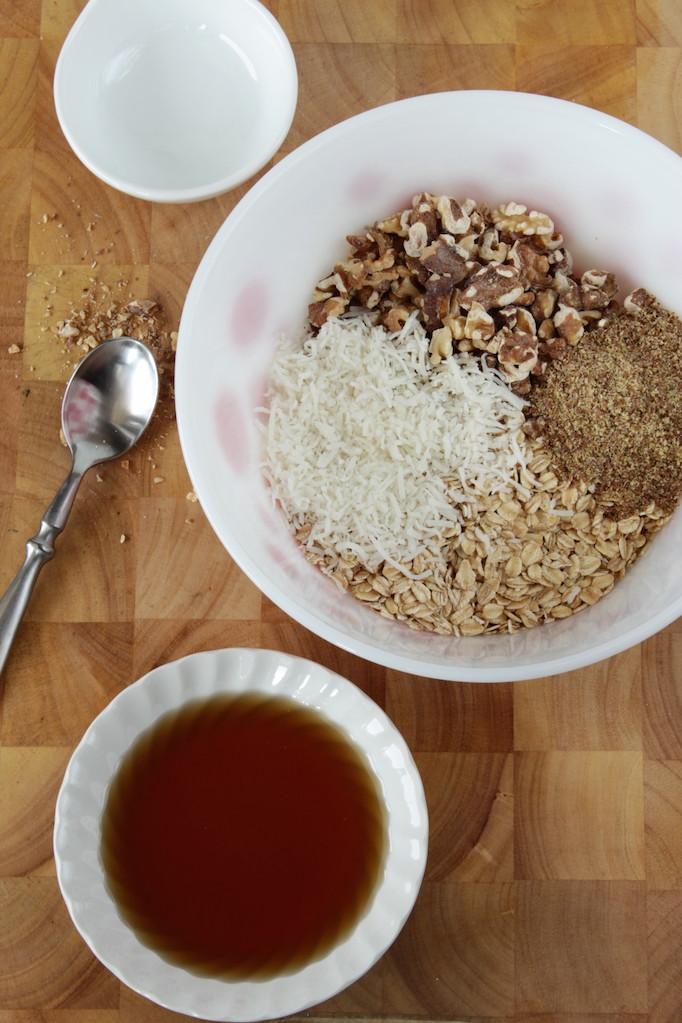 Coconut Walnut Granola