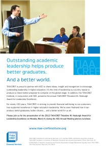 9211 TC ACE Annual Leadership in Excellence Award Ad