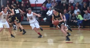 defensive effort, Quakers, Pirates, girl's basketball
