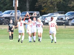 girl's soccer, SJG2 semifinal, Middle Township, right direction