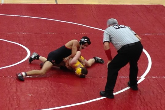 playoffs wrestling Delran