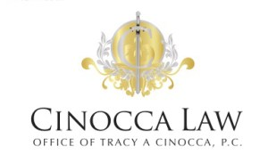 d Dove on Gold Personal Injury Cinocca Logo
