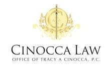 e Cream Cinocca Wrongful Death Logo