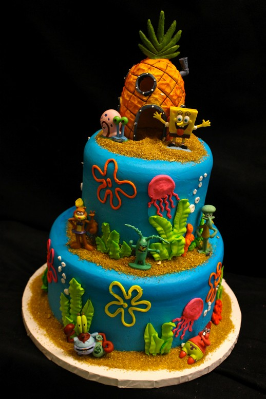 Underwater Paradise A Grotto Under The Sea Cake By