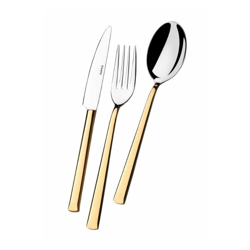 Antares Altın Çatal Kaşık Bıçak