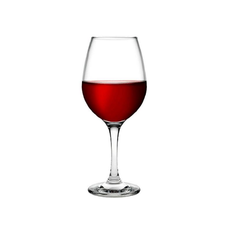 440275 Amber Kırmızı şarap kadehi